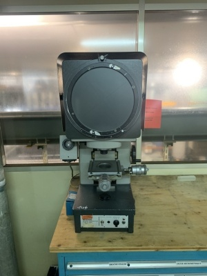 Mitutoyo Optical Comparator
